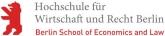 Logo:HWR Berlin - Hochschule für Wirtschaft und Recht Berlin